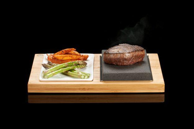 The SteakStones Steak & Sides Set with Fillet Up